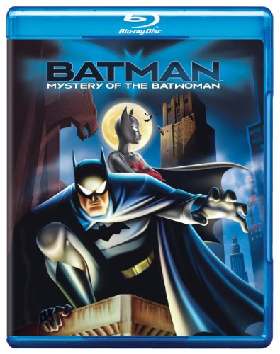 Batman Mystery Of The Batwoman Blu-ray at Gotham City Store