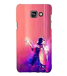 FUSON Rock Star Back Case Cover for Samsung Galaxy A7(2016)