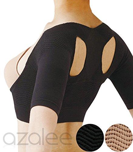 (アザレー) azalee 姿勢 矯正 サポート バスト アップ インナー ウェア 女性用 レディース 2カラー ブラック