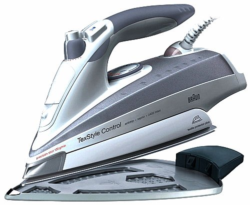 Braun Txstyle Control Iron,TEXTILE PROTECTOR PLUS (Iron SI18895) (220 Volts- Will NOT Work Here in USA and Canada)