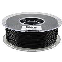 ZIRO 3D Printer Filament PLA 1.75 1KG(2.2lbs), Dimensional Accuracy +/- 0.05mm, Black from ZIRO
