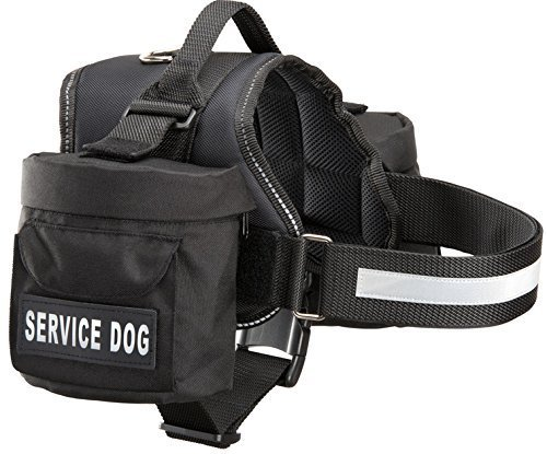 Service Dog Harness With Removable Pack