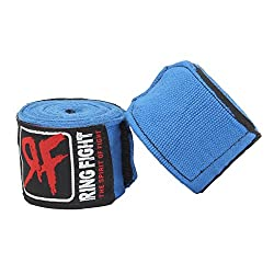 Ring Fight Blue Hand Wrap 180