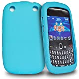 Accessory Master 9320 Silicone Case for Blackberry Curve Sky Blue