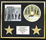 JACKSON 5/CD DISPLAY/LIMITED EDITION/COA/THE ULTIMATE COLLECTION