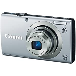 Canon Powershot A2300 Silver 16 Megapixel Digital Camera