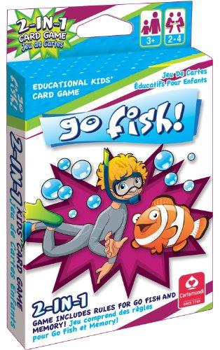 Cartamundi 1430 2 In 1 Card Game Go Fish & Memory - 1
