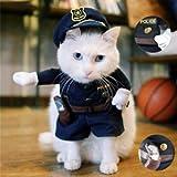 ペットポリスマンコスチューム子猫用PetsLovePetPolicemanCostume X0013RYXOJ-Sハロウィン[並行輸入品]