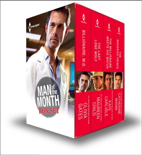 Kate Carlisle, Maureen Child, Olivia Gates  Catherine Mann - Best of Man of the Month - Set 1 of 3