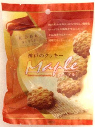 昭栄堂製菓 神戸のクッキー メープル 80g×20袋