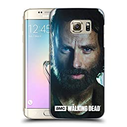 Official AMC The Walking Dead Rick Characters Hard Back Case for Samsung Galaxy S7 edge