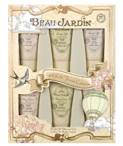 Beau jardin travel gift set beauty for Beau jardin hand cream collection