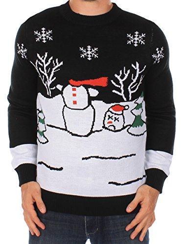 Headless Snowman Sweater