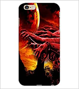PrintDhaba Ghost D-4339 Back Case Cover for APPLE IPHONE 6 PLUS (Multi-Coloured)