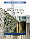 Student Solutions Manual for University Physics Vols 2 and 3