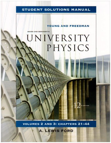Instructor solutions manual Sears and Zemansky's University physics