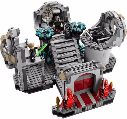 720 pcs SWs Death Star Final Duel include 5 minifigures with assorted weapons Without Box