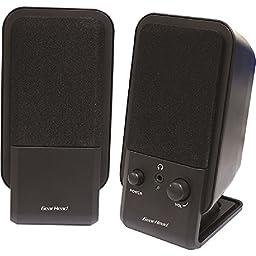 Gear Head - Powered 2.0 Desktop Speaker System \