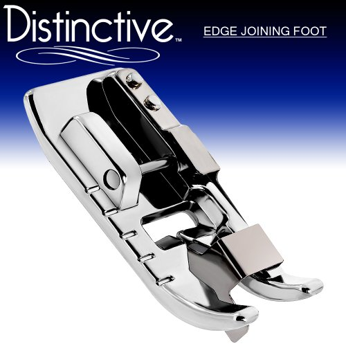 Distinctive Edge Joining / Stitch In The Ditch Sewing Machine Presser Foot - Fits All Low Shank Snap-On Singer*, Brother, Babylock, Euro-Pro, Janome, Kenmore, White, Juki, New Home, Simplicity, Elna And More!