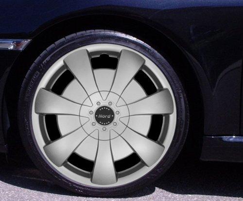 Radkappen NORD silber 15 Zoll Fiat 500, Bravo, Brava, Doblo, Grande Punto, Evo, Idea, Linea