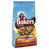 Bakers Complete Weight Control with Tasty Chicken, Rice & Country Vegetables 1 x 5kg