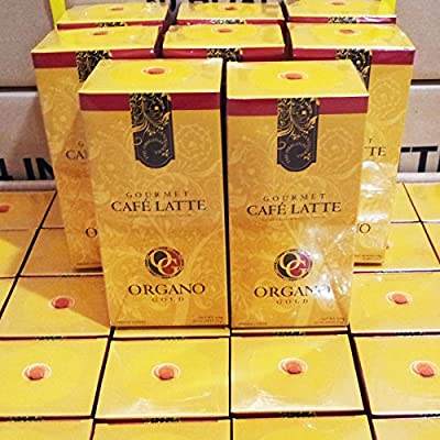 8 Boxes Organo Gold Gourmet Cafe Latte with 100% Organic Ganoderma Lucidum Extract - HOS