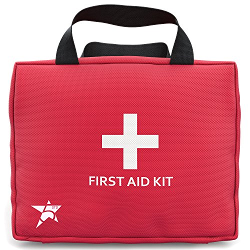 5-Star-Complete-First-Aid-Kit-102-pieces-Essential-for-Home-Car-Office-Sports-Camping-and-General-Safety-100-Satisfaction