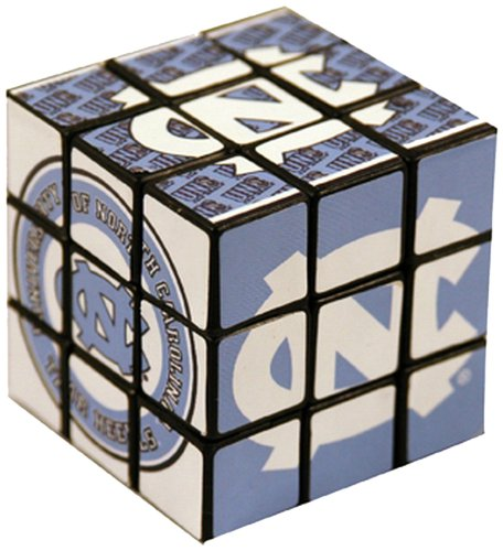 NCAA North Carolina Tar Heels Toy Puzzle Cube - 1