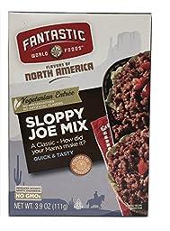 Fantastic World Foods, Sloppy Joe Mix 3.9 Oz. (Pack of 6)