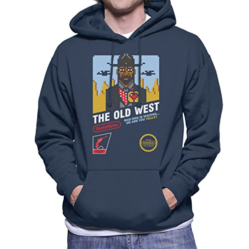 The Old West Back To The Future III Men's Hooded Sweatshirt