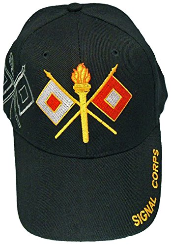 [U.S. Army Division and Brigade Baseball Caps Quality Embroidered Hats (Signal Corp)] (Hats 4 U)