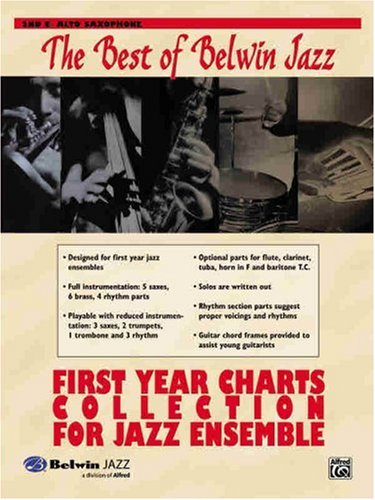 First Year Charts Collection for Jazz Ensemble: 2nd E-Flat Alto Saxophone (First Year Charts Collection for Jazz Ensemble)
