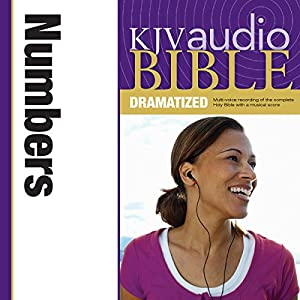 KJV Audio Bible: Numbers (Dramatized) Audiobook