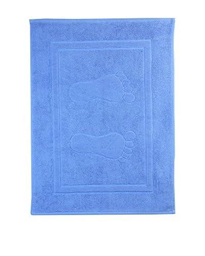 Natural History Gifts Alfombra de Baño 800 G Azul Medio 50 x 70 cm