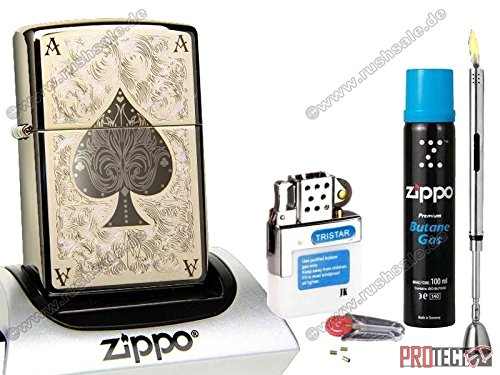 zippo-briquet-ace-of-spades-filigrane-kit-de-gaz-dorthographe-roue-tige-briquet-chrome-brosse