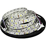 Mixed-Gadgets RGBW LED Light Strip 16.4ft 5M Flexible Non-waterproof RGB+White 300leds Color Changing Strip Light (RGBW)