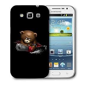 Snoogg Zipper Bear Designer Protective Back Case Cover For Samsung Galaxy Win i8552