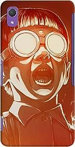 DailyObjects Fire Scream Case For Sony Xperia Z2