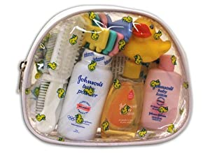 Convenience Kits 45 Johnson & Johnson 10 Piece Baby Travel Kit with Bag (Case of 6)