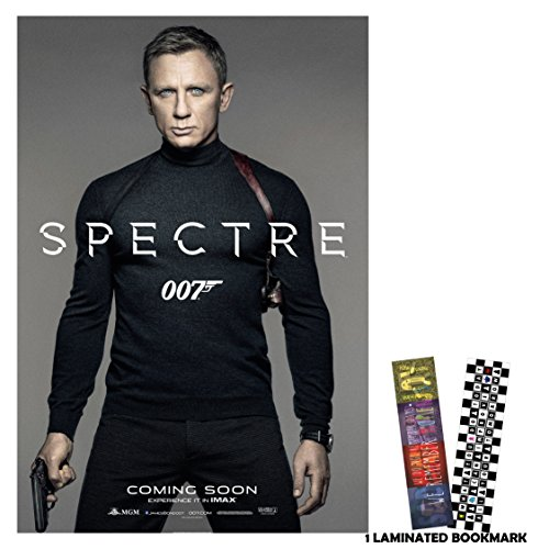 "Spectre 007 (2015) - James Bond - Movie Poster Reprint 13"" x 19"" Borderless"