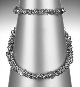 Gem Stack Link Necklace