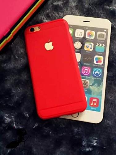 GoRogue Thick TPU Top Grade Royal Protective Back Case Cover For Apple iPhone 6 4.7 inch [Red]