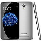 DOOGEE 4G 64bit VALENCIA2 Y100 Pro MTK6735P 1.3GHz Quad core 5.0 Pulgada 1280 x 720 pixels IPS pantalla 2GB+16GB Android 5.1 13MP Cámara Doble SIM tarjeta Smartphone libre desbloqueado Plateado