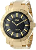 "JBW Men's JB-6225-C ""562"" Pave Dial 18K Gold-Plated Diamond Watch"