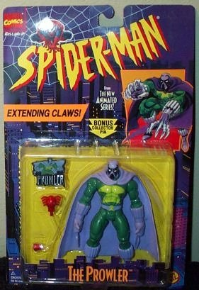 Spider-Man The Prowler Extending Claws Action Figure