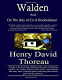 Walden and On the Duty of Civil Disobedience
