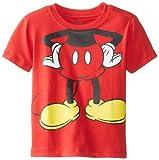 Disney Little Boys' Mickey Mouse Body Tee