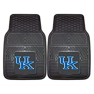 Buy FANMATS NCAA University of Kentucky Wildcats Vinyl Heavy Duty Vinyl Car Mat by Fanmats