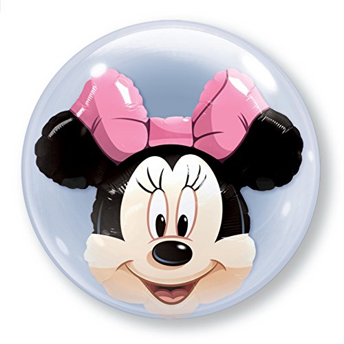 Minnie Mouse Bubble Balloon Party Accessory - 1