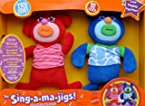 The Sing-A-Ma-Jigs New Red & Midnight Pair